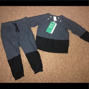 NWT H&M sweater set size 12-18 months